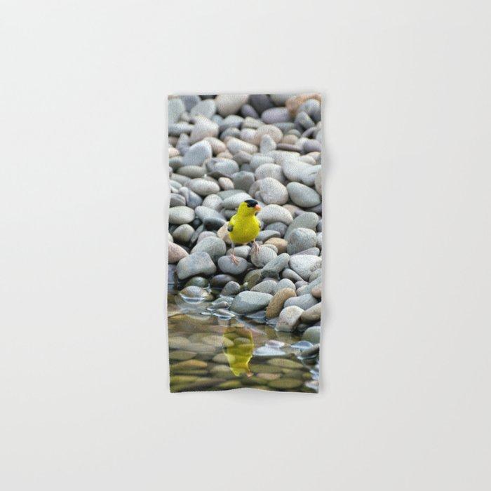 Golden Reflections Hand & Bath Towel