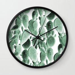 Climbing Cacti Wall Clock