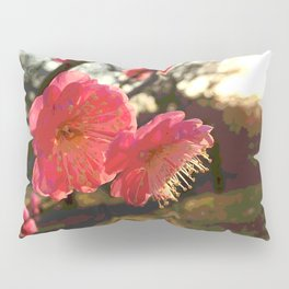 Plum Blossom Pillow Sham