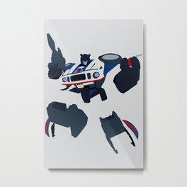 Transformers G1 - Autobot Jazz Metal Print