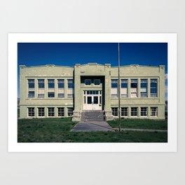 Antelope School Art Print