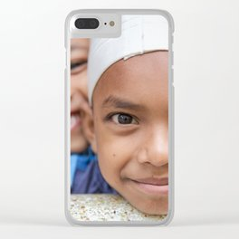 First sight Clear iPhone Case