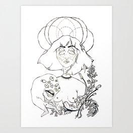 Reach for the Dead Art Print