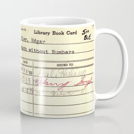 LibraryCard 510 Math Without Numbers Coffee Mug