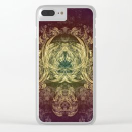 Psychedelic Art 2 Clear iPhone Case