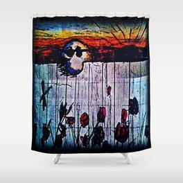 charlie endures Shower Curtain