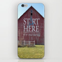 Start Here, It's All About Learning iPhone Skin