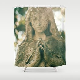 Our Lady of the Sunlight Shower Curtain