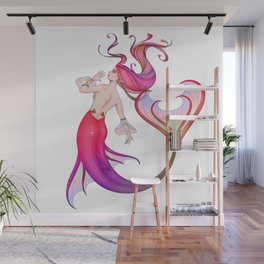 Mermaid Wall Mural