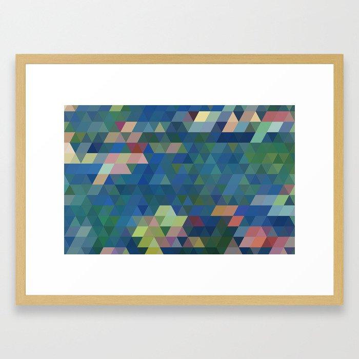 Wtr Llies Framed Art Print