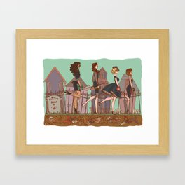 Liars Framed Art Print