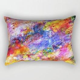 Colored Pattern Rectangular Pillow