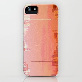 CHAMPAGNE DRUNK SKYLINES iPhone Case