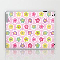 LAZY DAISY PINK Laptop & iPad Skin