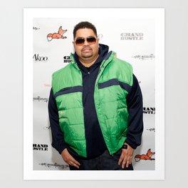 Heavy D & the Boyz - BLM - Hip Hop - Society6 - Dwight Arrington Myers 3321 Art Print