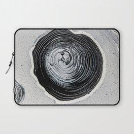 The Hole (Black and White) Laptop Sleeve