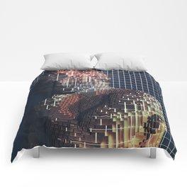 spartacus in voxel Comforters