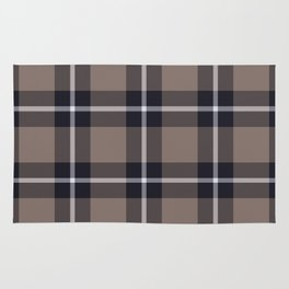 big dark weave monochrome Rug