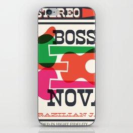 Bossa Nova Stereo iPhone Skin