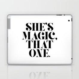 She's Magic, That One. Laptop & iPad Skin