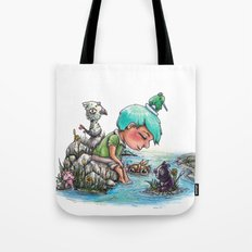 By the River's Edge Tote Bag