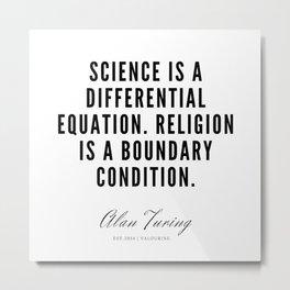 2    | Alan Turing Quotes  | 190716 | Metal Print