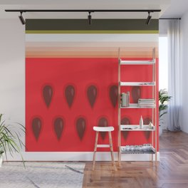 Yummy Watermelon Wall Mural