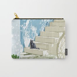 Being a person is getting too complicated. It's time to be a cat. #painting #pets Carry-All Pouch