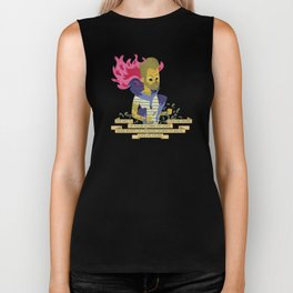 Illustrated Songs - Mojo Pin Biker Tank