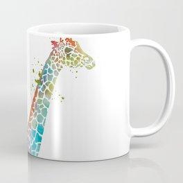 Blue Giraffe Coffee Mug