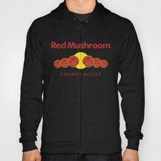 Red Mushroom Energy Boost Hoody