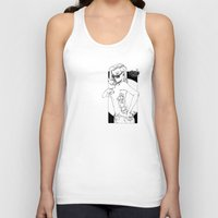 tatoo Tank Tops featuring tatoo tanga & cigarette by kingsimon