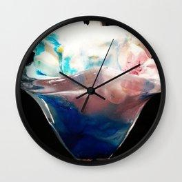Sundae Wall Clock