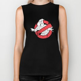 Ghostbusters-Vintage hipster t-shirts Biker Tank