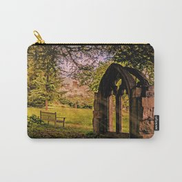 Manor house landscape. Carry-All Pouch