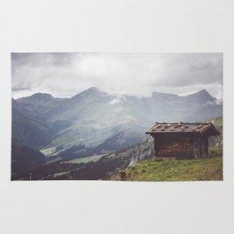 Alpine hut Rug