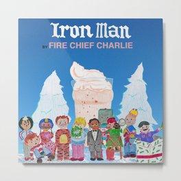 """Iron Man"" Album Art Metal Print"