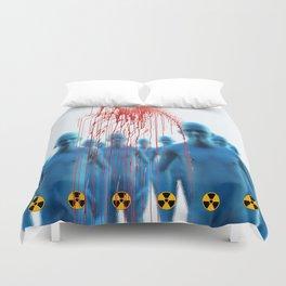 Aliens Gang & Strange Cosmic Blood Duvet Cover