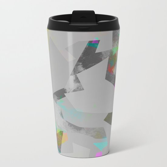 Camouflage XXXIII Metal Travel Mug