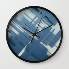 Abstract Composition 634 Wall Clock