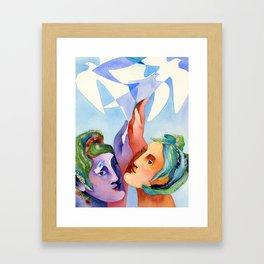 Shared dream Framed Art Print