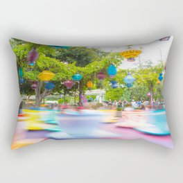 Tea Cups Rectangular Pillow