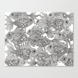 Fish School II Canvas Print