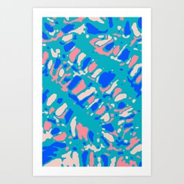 Coral Reef Sunlight Dream Art Print