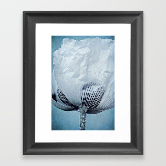 paper sky Framed Art Print