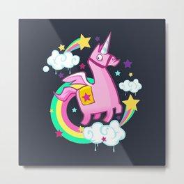Pinata Unicorn Metal Print