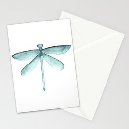Blue Dragonfly Stationery Cards
