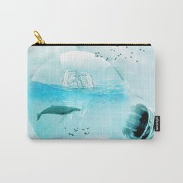 Below the Surface Carry-All Pouch