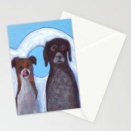 Dogs in Greece Stationery Cards