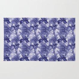 Flower Play in Blue Rug